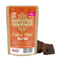 Hempower JELLY CRITICAL MASS 26% CBD 1,5G