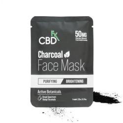CBDfx Hemp Face Mask Charcoal (purifying/brightening) 50mg / 1PC